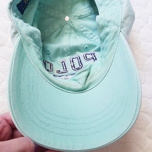 Polo by Ralph Lauren Accessories - Polo Ralph Lauren hat baseball cap mint ponytail